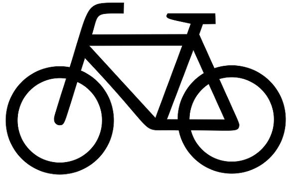 Bildbeschreibung: Auf Bild 8 ist die Abbildung eines Fahrrades zu sehen, wobei sich der Lenker auf der linken und der Sattel auf der rechten Seite befindet. Ende der Bildbeschreibung.